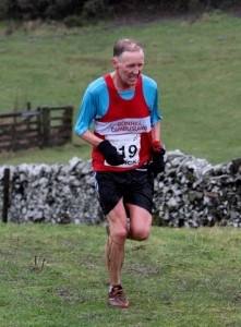 Colin on his way to the M55 gold despite feeling the conditions.