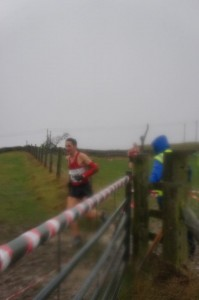 Race winner and M40 gold medallist Kenny-Liam