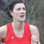 Caitlin on the 1st leg