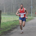 Greg Hastie powering the M40's to a last lap victory