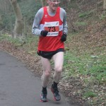 David Cooney on the 3rd leg